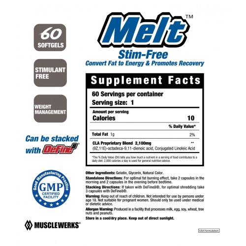 Melt::Fat Burner for Women and Men