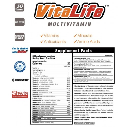 VitaLife::Multivitamin-Liquid